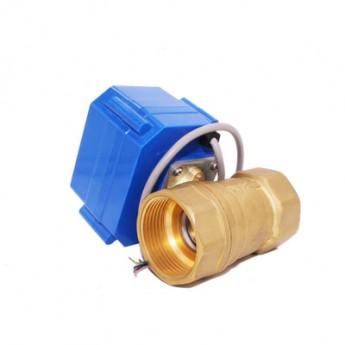 CWX DN321.2寸大扭矩電動銅閥二通銅球水閥
