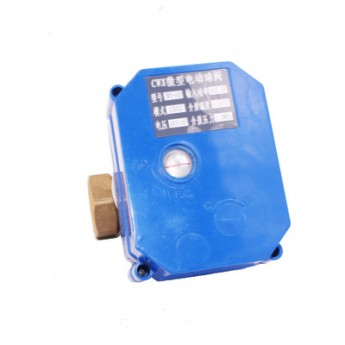 CWX大扭矩DN206分二通小型電動閥大扭矩銅閥顛倒正負極