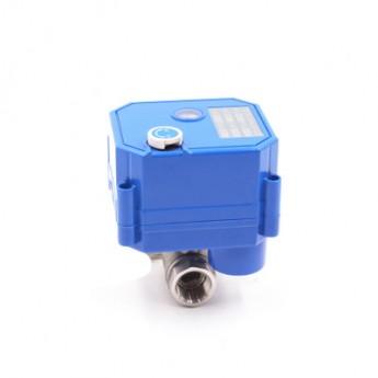 電動閥門水閥執行器控制器調節閥 DN10不銹鋼直通3分球閥
