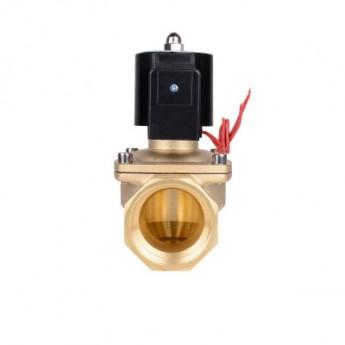 常閉節能通電電磁閥水閥氣閥2W320-32 1.2寸內絲連接