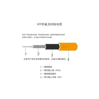 SFF鐵氟龍同軸電纜