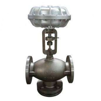 供应不锈钢气动调节阀 常闭式薄膜阀 高温蒸汽专用 支持可定制