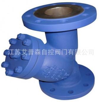 德標Y型過濾器GL41H-25C GS鑄鋼Y型法蘭過濾器
