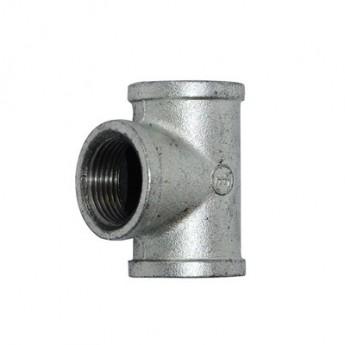 批發建支三通 消防瑪鋼管件 等異徑家裝水暖燃氣內螺紋鍍鋅三通