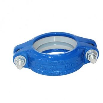 廠家直銷飲用水系列剛性卡箍消防用剛性卡箍溝槽卡箍 剛性管接頭