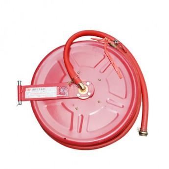 20/25米消防卷盤消防軟管卷盤消防滅火器材自救式水帶卷盤