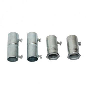 供應JDG羅接內絲鐵羅接穿線管羅接抗銹耐腐蝕金屬線管鍍鋅管件