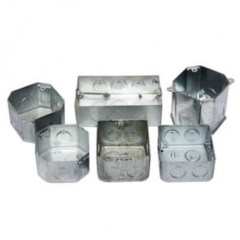 建支批發供應接線盒、燈頭盒 鍍鋅板接線盒電子元器件電纜接線盒