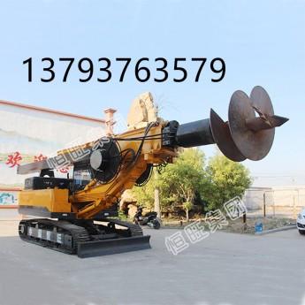 供應履帶式螺旋鉆機 輪式旋挖鉆機 質保一年