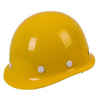 安全帽高強度玻璃鋼型工地施工建筑工程防砸防護勞保抗砸頭盔