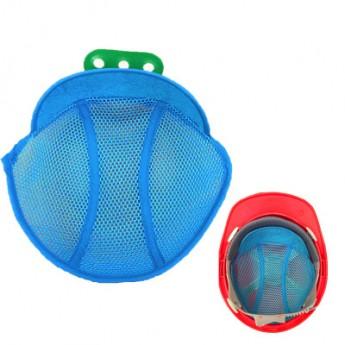 明盾安全帽内衬 工地施工劳保 透气通风吸汗可水洗 夏季