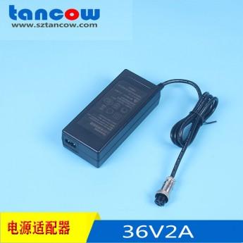 36V2A電源適配器CE UL液晶顯示器 燈箱電源廠家