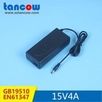 15V4A電源適配器61347標準PF>0.9神牛攝影燈電源