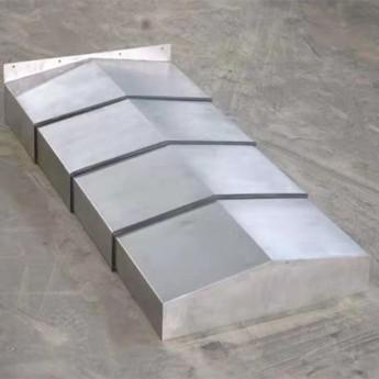 生產銷售優質鋼板伸縮防護罩、鋼制伸縮導軌防護罩、機床外防護殼