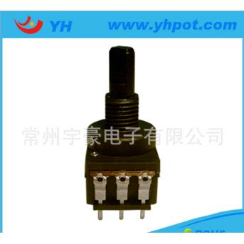 17mm單聯旋轉式大功率電位器環保型調光開關