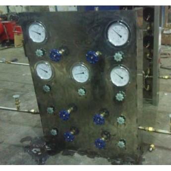 氣體充灌控制面板