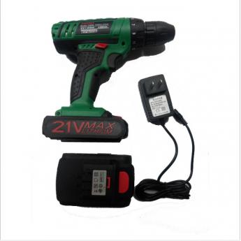锂电充电钻21V充电起子螺丝刀家用多功能手电钻配件
