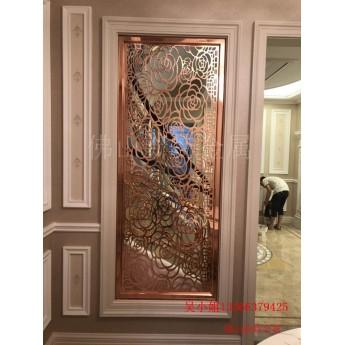 濰坊銅雕刻屏風 銅屏風 進入裝飾高峰期
