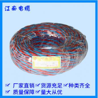 銅芯聚氯乙烯絕緣耐火絞型軟線
