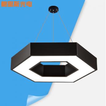 六边形吊灯