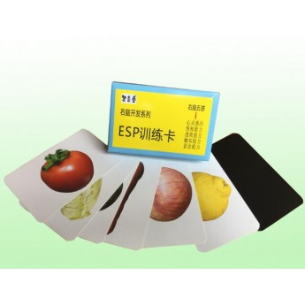 七田真右腦開發ESP透視能力訓練卡魔術-七田真ESP卡