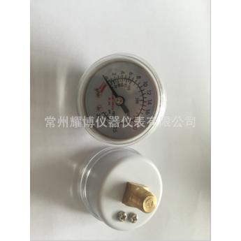 出口型医用压力表45mm/医用设备压力泵压力表0-30atm