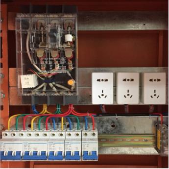 定制供應戶外臨時電源柜不銹鋼配電箱家用電箱電氣控制柜廠家包郵