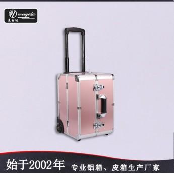 铝合金化妆箱 大号美容工具箱 多层旅行箱批发