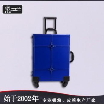 专业铝合金化妆箱 带灯大号拉杆箱灯箱可定做爆款