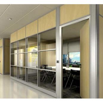 公室隔斷墻高間隔玻璃