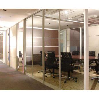 辦公單玻璃隔斷系列