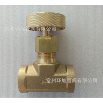 各種黃銅,不銹鋼材質可穿板安裝的高壓,中壓針型閥