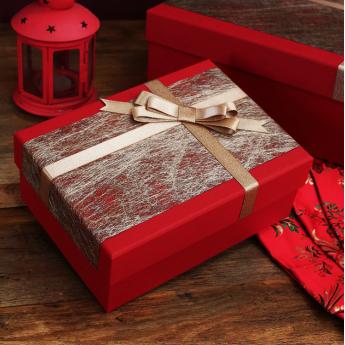 定制包裝盒紅色禮品盒