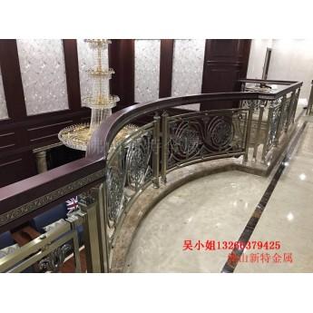 出廠銅雕刻樓梯扶手歐式樓梯扶手大量新型款式
