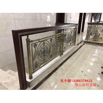 純銅訂做歐式樓梯扶手 別墅弧形樓梯實用定制