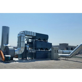 VOCs有機廢氣吸附脫附+催化燃燒一體機