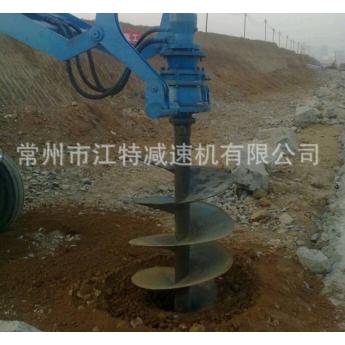 高桿燈挖坑專用設備配套減速機