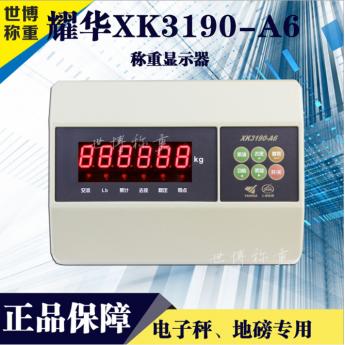 上海耀華A6儀表頭電子秤