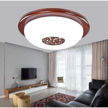 中式圓形吸頂燈