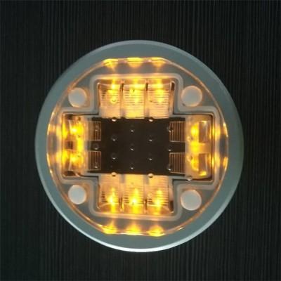 人行斑馬線太陽能道釘 智能無線同步閃爍