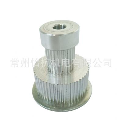 mxl50+25齿-孔6-H40铝合金氧化同步轮