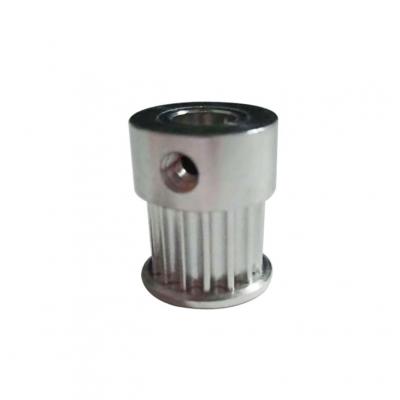 厂家生产3m-15齿-Φ7-H19.5铝合金同步皮带轮