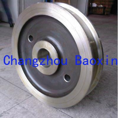 高质量行车车轮 模锻 铸造 天车有轨车轮
