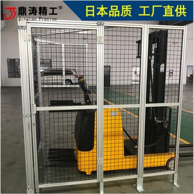 機械流水線隔離圍欄 鋁型材安全圍欄