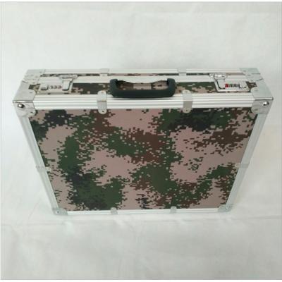 铝箱厂家出售07丛林数码迷彩铝合金密码箱