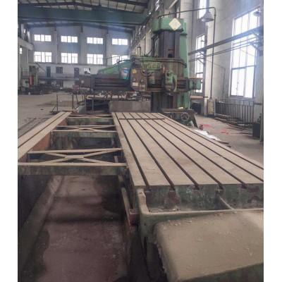 轉讓二手單臂刨銑床1.6米x6米東方機床廠產B1016A型