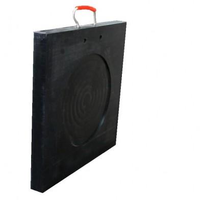 瑞成品牌吊車泵車專用聚乙烯防滑抗壓支腿墊板報價