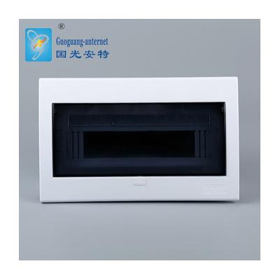 批發YLK豪華型塑面鐵底15回路配電箱 防水配電箱 強電箱