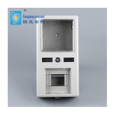 廠家生產全塑電子式配電箱 防水戶內單相預付費電表箱