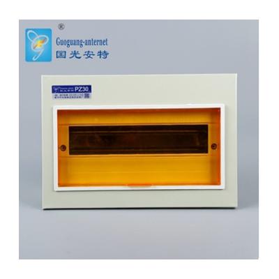 批發冷軋鋼板回路箱 家用室內PZ30八一型暗裝12回路配電箱